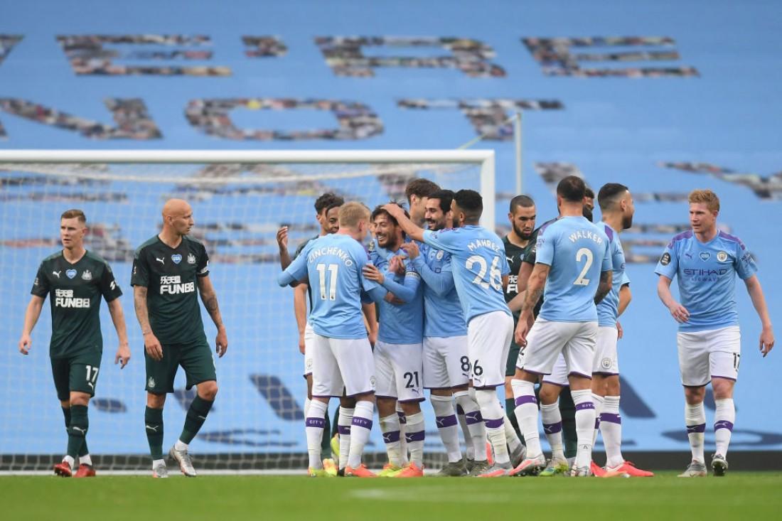 Манчестер Сити - Ньюкасл: видео голов и обзор матча