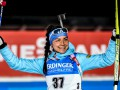 Биатлон: Акимова победила в женской гонке, неудача украинских биатлонисток