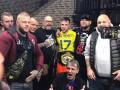 Голландский боец ММА после победы надел футболку игрока сборной Украины