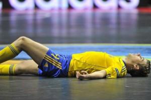 Сборная Украины была наказа Словенией