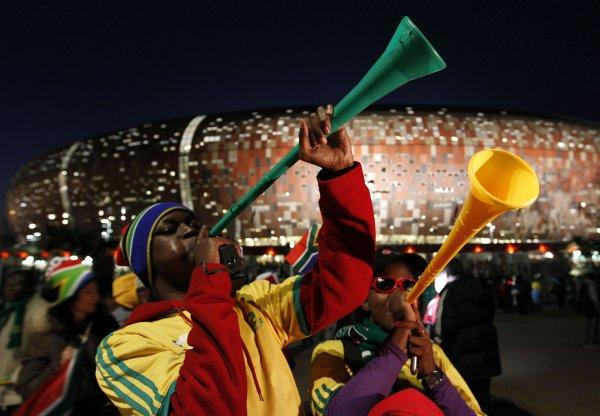Вувузелы вошли в историю после Мундиаля в ЮАР / AP