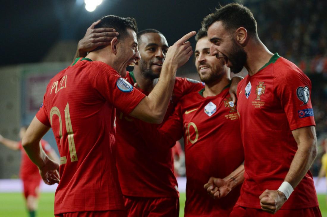 сборная Люксембурга - сборная Португалия: видео голов и обзор матча