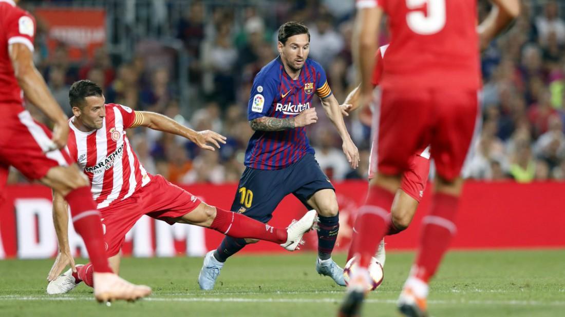 Видео голов матча Барселона - Жирона