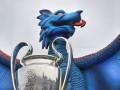 Гигантский дракон в Кардиффе будет встречать финалистов Лиги Чемпионов