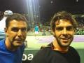 Экс-игрок Реала побывал на теннисном матче первой ракетки мира