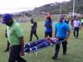 Удар молнии чуть не убил футболистов на Ямайке