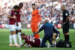 Ярмоленко травмировался в матче против Тоттенхэма и на носилках покинул поле