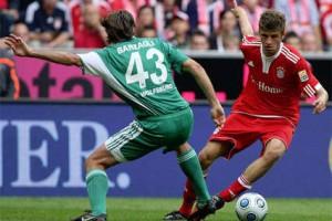 Вольфсбург играет с Баварией