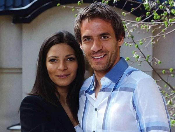 Девич с женой Миликой
