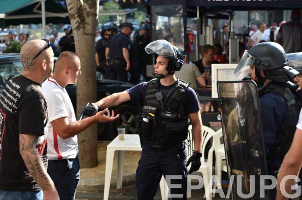 В Марселе вновь случились столкновения фанатов с полицией