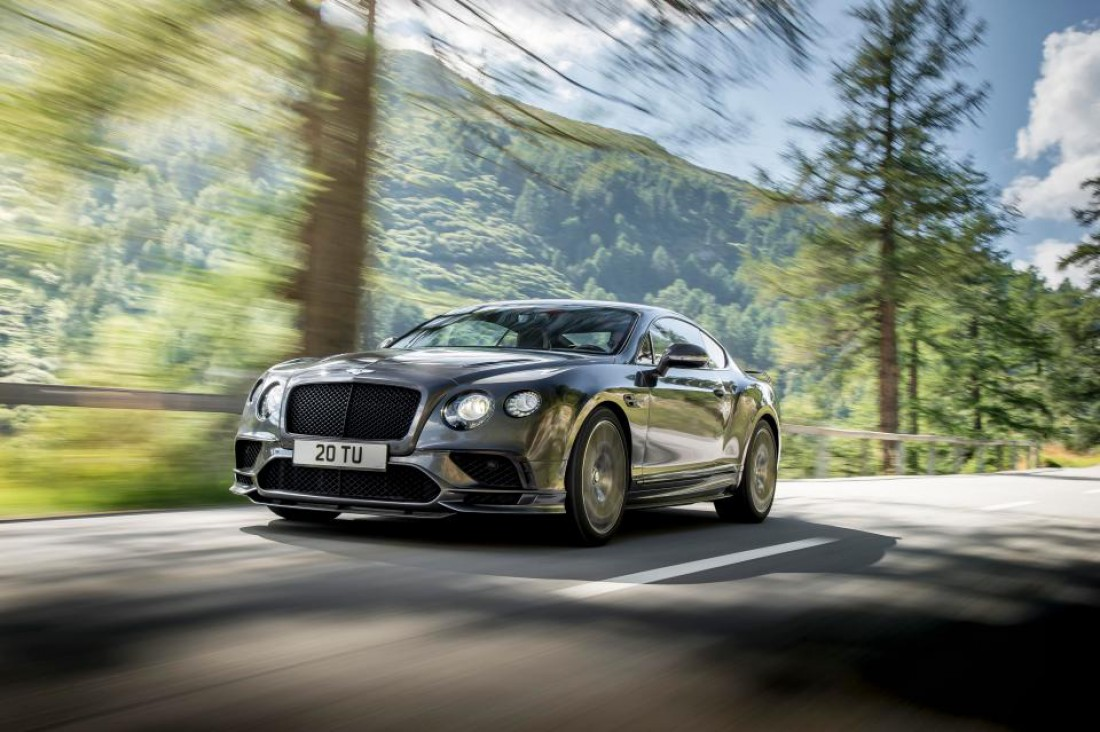 Bentley Continental GT Supersports Харри Кейна