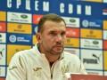 Шевченко: Футболисты отдали на поле все, что они могли