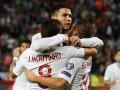 Сербия - Португалия 2:4 видео голов и обзор матча Отбора на Евро-2020