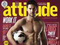 Английский полузащитник снялся для гей-журнала Attitide