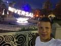 Коноплянка побывал в парке развлечений Universal Studios в Орландо