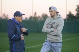 Еще один экс-игрок Динамо побывал на тренировке киевлян в Испании