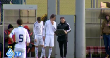 Динамовец Гармаш вернулся на поле после длительного лечения