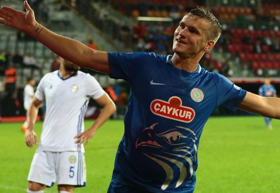 Александр Гладкий оформил дубль в матче Кубка Турции
