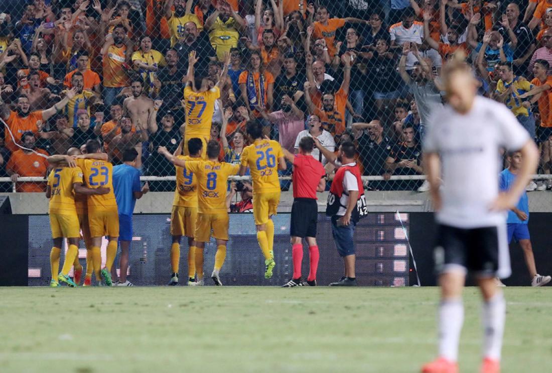 АПОЭЛ сделал невероятный камбэк в дополнительное время матча ЛЧ