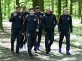 Игроки Шахтера прогулялись по львовскому парку перед матчем с Севильей