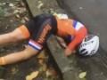 Голландская велогонщица попала в страшную аварию на Олимпиаде