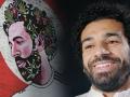 Художник выразил уважение Салаху и изобразил его на одном из домов Нью-Йорка