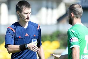Украинский судья отметил дебют в еврокубках двумя пенальти