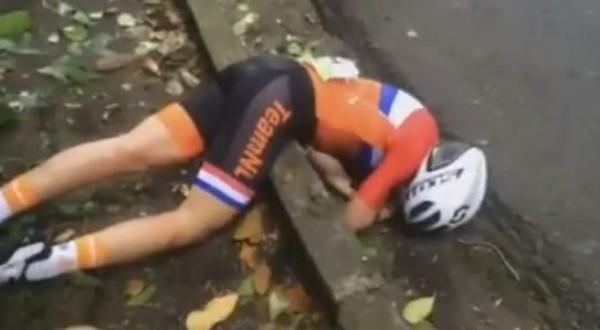 Аннемиек ван Флеутен попала в серьезную аварию