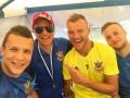 Футболисты сборной Украины устроили гонки в картинг-центре