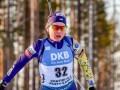 Меркушина завоевала золото супер-спринта ЧУ, отправившись на 4 штрафных круга