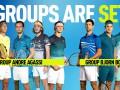 Стали известны результаты жеребьевки Итогового турнира ATP
