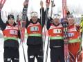 Хохфильцен: Норвегия выиграла мужскую эстафету