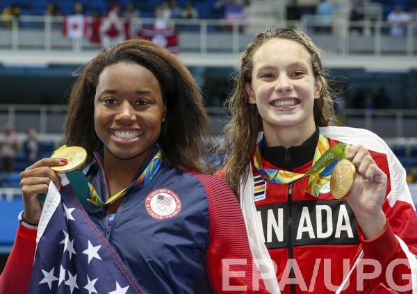 Пловчиха сукраинскими корнями Пенни Олексяк завоевала четвертую медаль Олимпиады