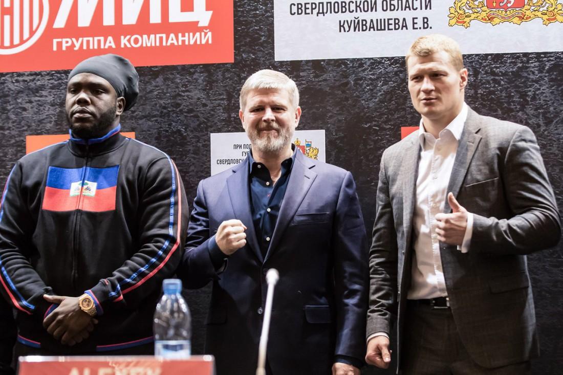 Пресс-конференция накануне поединка Поветкин – Стиверн