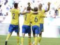 Товарищеский матч: Швеция разгромила Уэльс