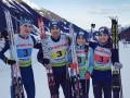 Биатлон: Украина выиграла эстафету на чемпионате Европы