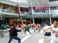 Всем хака. Массовое исполнение культового танца маори в Новой Зеландии