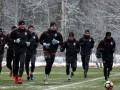 Снежная подготовка: Как Шахтер начал подготовку к матчу со Сталью