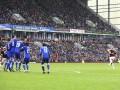 Сумасшедший гол со штрафного в ворота Челси от игрока Бернли
