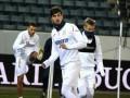 Сборная Украины провела тренировку перед матчем против Швейцарии