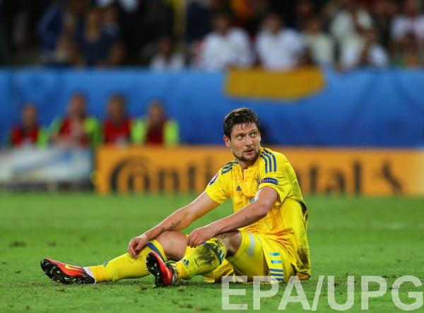 Сборная Украины проиграла свой первый матч на Евро-2016