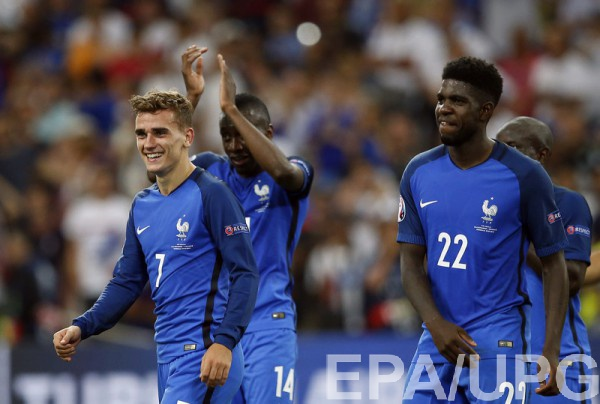 WhoScored опубликувал свою версию команды полуфиналов Евро-2016