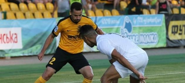 Александрия сыграла вничью с Астрой в Лиге Европы