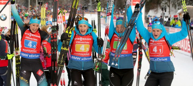 Рупольдинг: Франция выиграла эстафету, сборная Украины провалила гонку