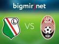 Легия - Заря 3:2 Трансляция матча Лиги Европы