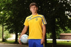Чемпион U-19 Евро-2009 Сергей Рыбалка