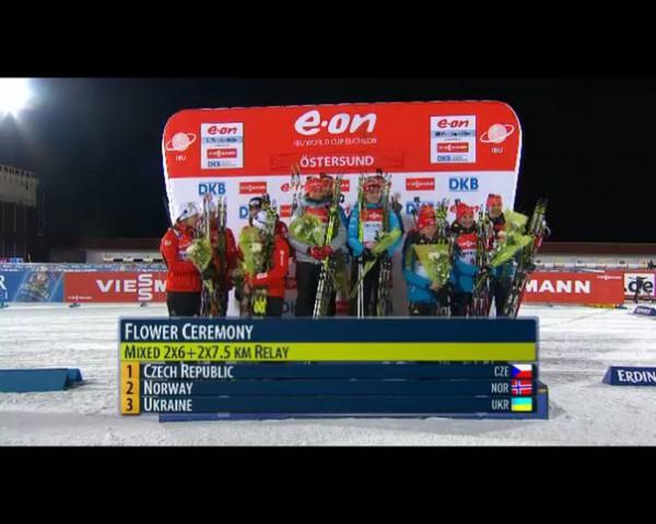 Украина завоевывает первую медаль