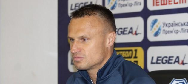 Шевчук покинул пост главного тренера Олимпика