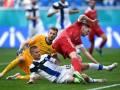 Сборная России минимально обыграла Финляндию в матче Евро-2020