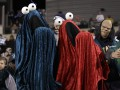 Веселого Хэллоуина! Как спортивные болельщики карнавал устраивают